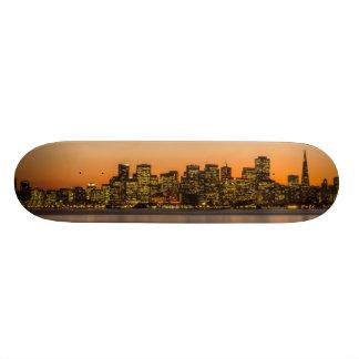 サンフランシスコの美しい日没 20.6CM スケートボードデッキ