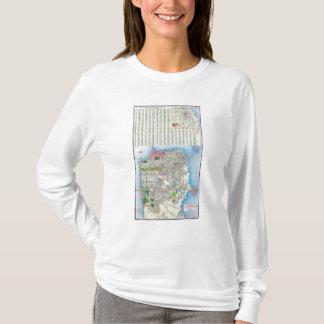 サンフランシスコの通り地図 Tシャツ