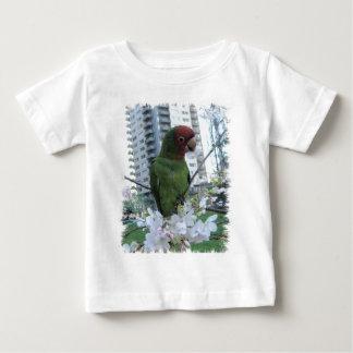サンフランシスコの野生のオウム ベビーTシャツ