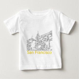 サンフランシスコの1986年の芸術博物館のZazzleのスケッチ ベビーTシャツ