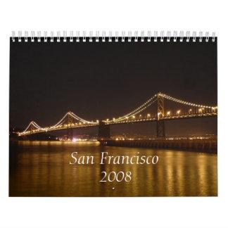 サンフランシスコの2008第2版 カレンダー