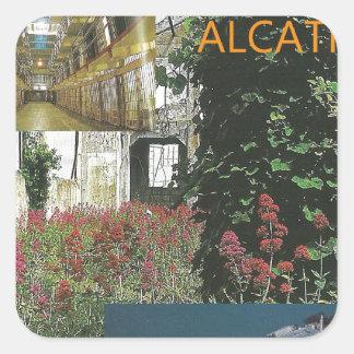 サンフランシスコのAlcatrazの美しい スクエアシール