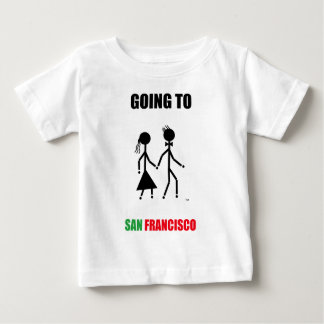 サンフランシスコへ行くこと ベビーTシャツ