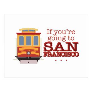 サンフランシスコへ行くこと ポストカード