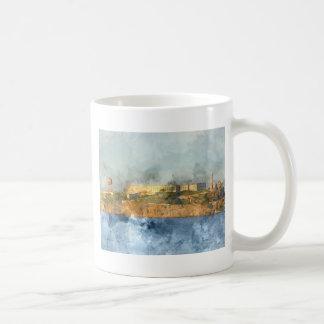 サンフランシスコカリフォルニアのアルカトラズ島 コーヒーマグカップ