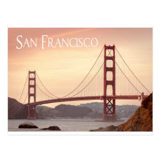 サンフランシスコカリフォルニアのゴールデンゲートブリッジ、米国 ポストカード
