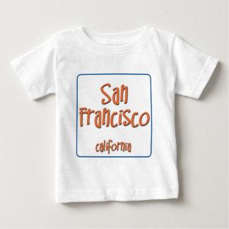 サンフランシスコカリフォルニアBlueBox ベビーTシャツ