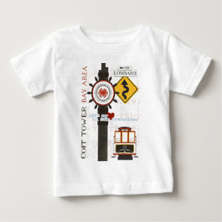 サンフランシスコ旅行点 ベビーTシャツ