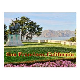 サンフランシスコ湾の美しい眺め ポストカード
