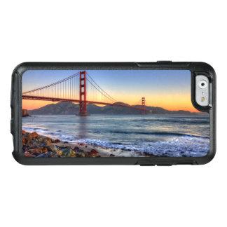 サンフランシスコ湾の道からのゴールデンゲートブリッジ オッターボックスiPhone 6/6Sケース