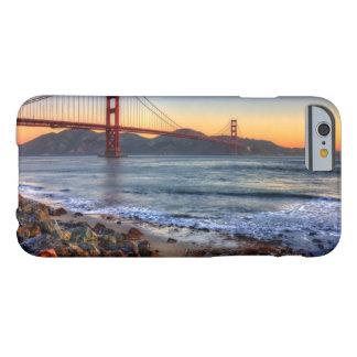サンフランシスコ湾の道からのゴールデンゲートブリッジ BARELY THERE iPhone 6 ケース