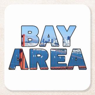 サンフランシスコ湾岸地区 スクエアペーパーコースター