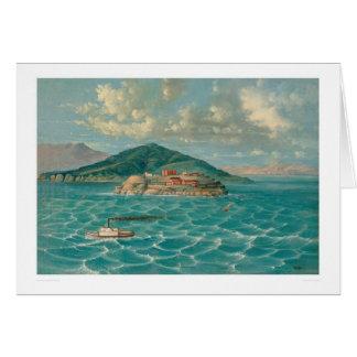 サンフランシスコ湾(1856A)のAlcatraz カード