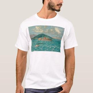 サンフランシスコ湾(1856A)のAlcatraz Tシャツ