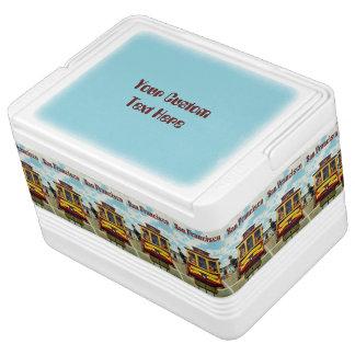 サンフランシスコ米国のヴィンテージ旅行好意箱 缶クーラー