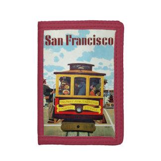 サンフランシスコ米国のヴィンテージ旅行札入れ