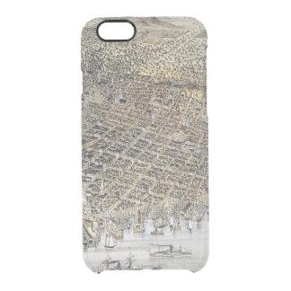 サンフランシスコ1878年の眺め クリアiPhone 6/6Sケース