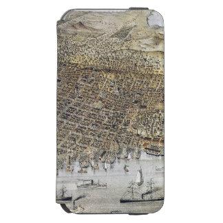 サンフランシスコ1878年の眺め INCIPIO WATSON™ iPhone 6 財布ケース