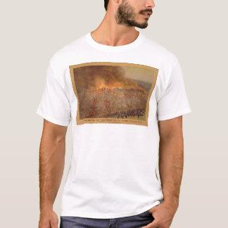 サンフランシスコ1906年4月18-20日の燃焼(1596A) Tシャツ