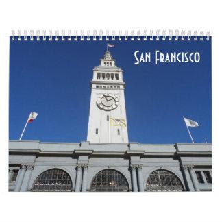 サンフランシスコ2017年 カレンダー