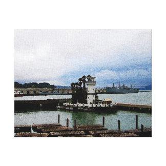 (サンフランシスコ)の2つのアイコンII キャンバスプリント