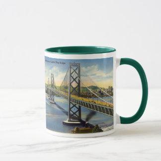 サンフランシスコ-オークランド湾橋マグ マグカップ