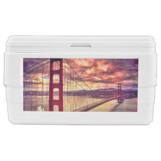 サンフランシスコ、カリフォルニアのゴールデンゲートブリッジ チェストクーラー