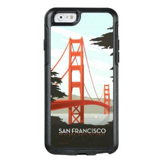 サンフランシスコ、カリフォルニア-ゴールデンゲートブリッジ オッターボックスiPhone 6/6Sケース