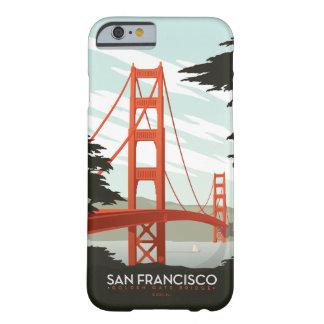 サンフランシスコ、カリフォルニア-ゴールデンゲートブリッジ BARELY THERE iPhone 6 ケース