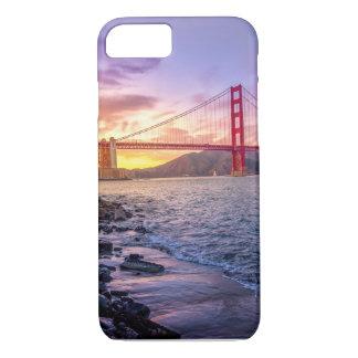 サンフランシスコ-ゴールデンゲートブリッジ- Iphone7場合 iPhone 8/7ケース