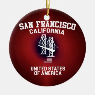 サンフランシスコ セラミックオーナメント