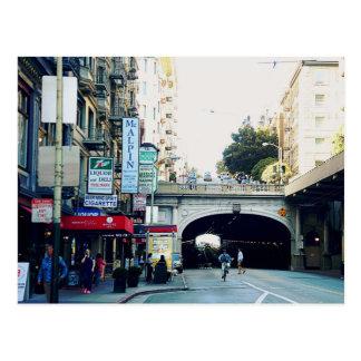 サンフランシスコ: トンネル ポストカード