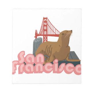 サンフランシスコ ノートパッド