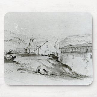 サンフランシスコ、バルパライソ1834年の教会 マウスパッド