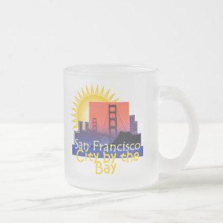 サンフランシスコ フロストグラスマグカップ