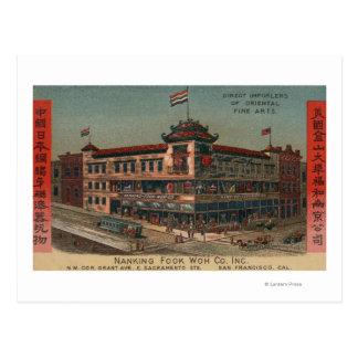 サンフランシスコ、南京Fook Co.のCAView ポストカード