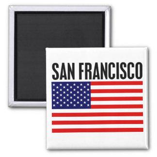 サンフランシスコ、星条旗 マグネット
