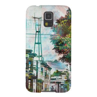 サンフランシスコ: 第19 TwinPeaksのWorld.tif Galaxy S5 ケース