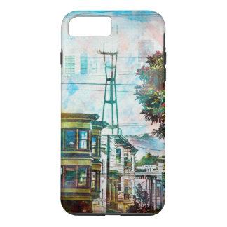 サンフランシスコ: 第19 TwinPeaksのWorld.tif iPhone 8 Plus/7 Plusケース