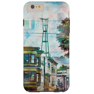 サンフランシスコ: 第19 TwinPeaksのWorld.tif Tough iPhone 6 Plus ケース