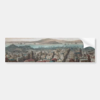 サンフランシスコ(1860Bumperステッカーの眺め バンパーステッカー