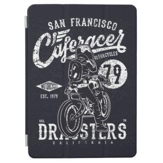 サンフランシスコCaferacer Dragstersカリフォルニアモーター iPad Air カバー