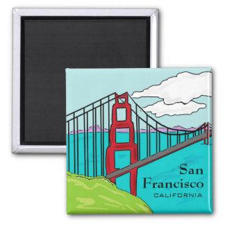サンフランシスコCaliのゴールデンゲートブリッジの磁石 マグネット