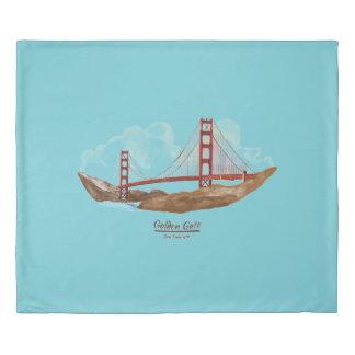 サンフランシスコCaliforinaの陸標 掛け布団カバー