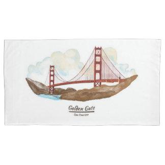 サンフランシスコCaliforinaの陸標 枕カバー