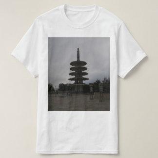 サンフランシスコJapantownの平和塔#2のTシャツ Tシャツ