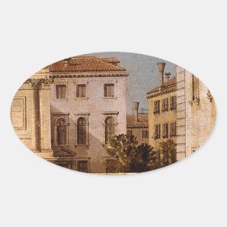 サンフランチェスコのdellaのVigna、教会およびカンポ 楕円形シール