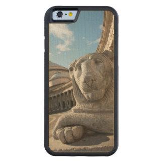 サンフランチェスコdi Paolaの前のライオンの彫像 CarvedメープルiPhone 6バンパーケース