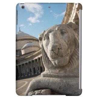 サンフランチェスコdi Paolaの前のライオンの彫像 iPad Airケース