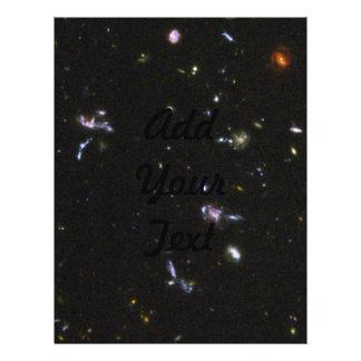 サンプル 遠い 銀河系 ハッブル 超 Dee チラシ広告